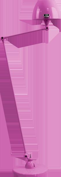 jielde-Aicler-AID833-vloerlamp-fuchsia-RAL4008-rond