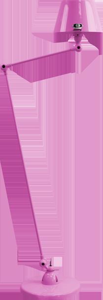 jielde-Aicler-AID833-vloerlamp-fuchsia-RAL4008