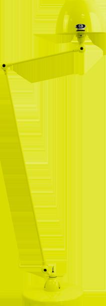 jielde-Aicler-AID833-vloerlamp-geel-RAL1016-rond