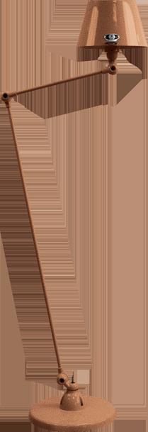 jielde-Aicler-AID833-vloerlamp-hamerslag-koper-CUM