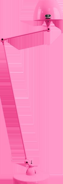 jielde-Aicler-AID833-vloerlamp-roze-RAL4003-rond