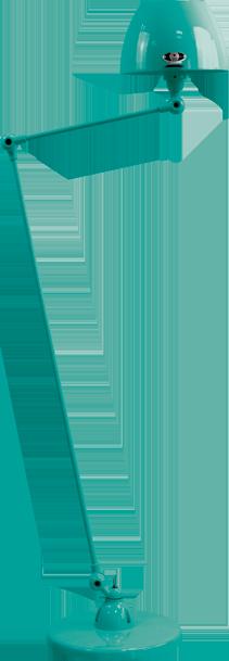 jielde-Aicler-AID833-vloerlamp-water-blauw-RAL5021-rond