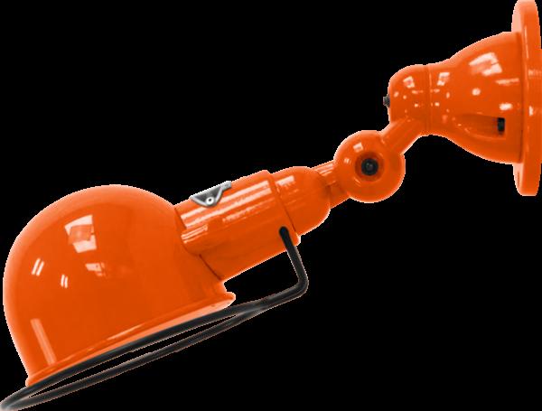 jielde-signal-SI300-wandlamp-oranje-RAL2004