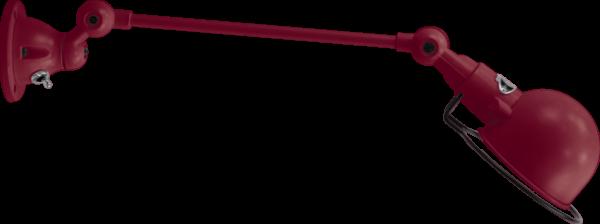 jielde-signal-SI301-wandlamp-burgondisch-RAL3005