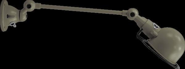 jielde-signal-SI301-wandlamp-grijs-Khaki-RAL7002