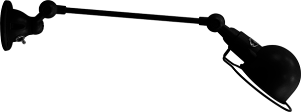jielde-signal-SI301-wandlamp-hamerslag-zwart-NOM
