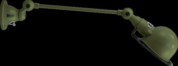 jielde-signal-SI301-wandlamp-olijf-groen-RAL6003