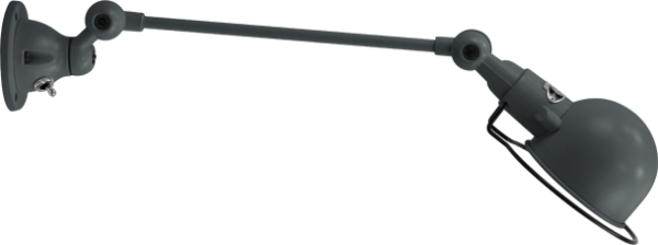 jielde-signal-SI301-wandlamp-graniet-grijs-RAL7026