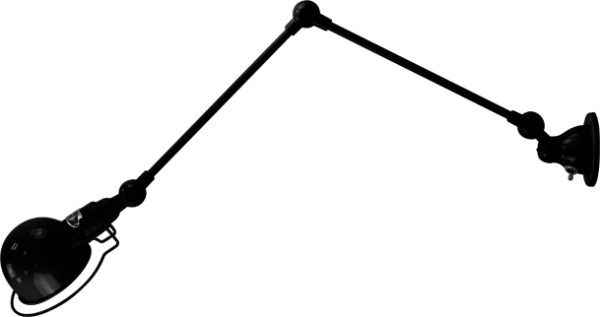 jielde-signal-SI331-wandlamp-hamerslag-zwart-NOM