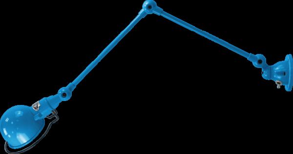 jielde-signal-SI331-wandlamp-lichtblauw-RAL5012