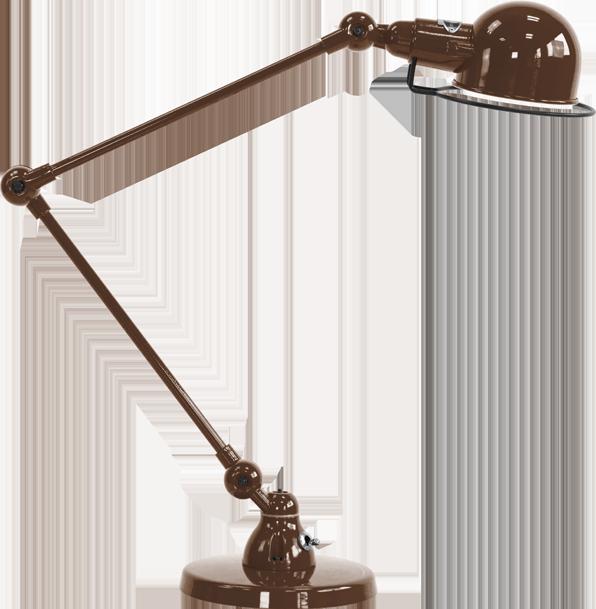 jielde-signal-SI333-bureaulamp-chocolade-RAL8017