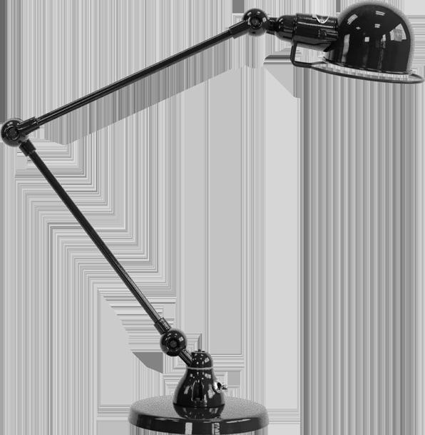 jielde-signal-SI333-bureaulamp-hamerslag-zwart-NOM