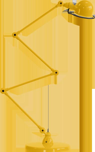 jielde-signal-SI433-vloerlamp-mosterd-RAL1003