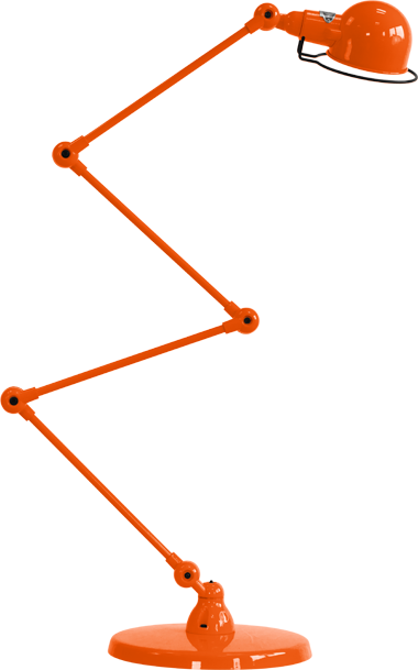 jielde-signal-SI433-vloerlamp-oranje-RAL2004