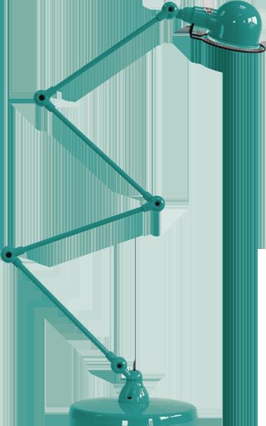 jielde-signal-SI433-vloerlamp-water-blauw-RAL5021