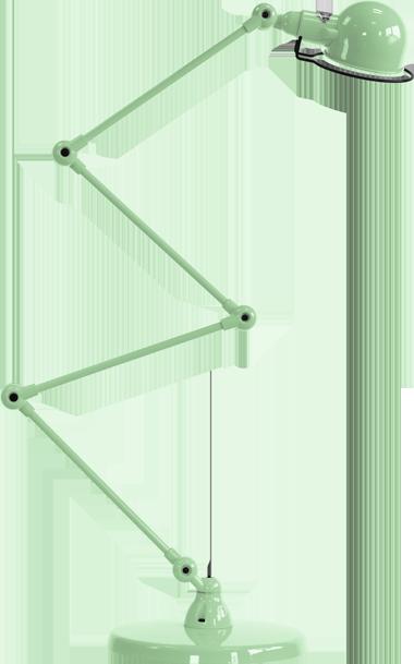 jielde-signal-SI433-vloerlamp-water-groen-RAL6019