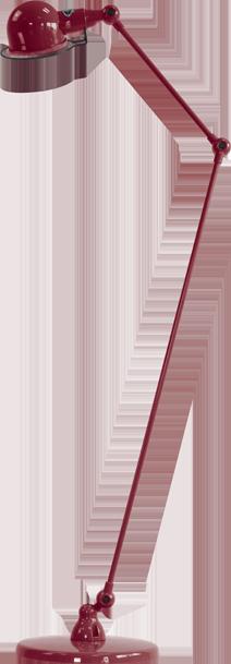 jielde-signal-SI833-vloerlamp-burgondisch-RAL3005