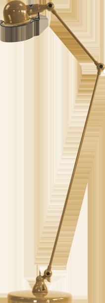 jielde-signal-SI833-vloerlamp-goud-RAL1036
