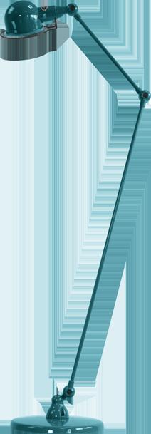 jielde-signal-SI833-vloerlamp-oceaan-blauw-RAL5020