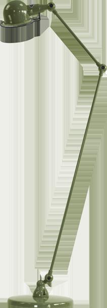 jielde-signal-SI833-vloerlamp-olijf-groen-RAL6003