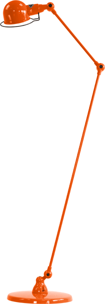 jielde-signal-SI833-vloerlamp-oranje-RAL2004