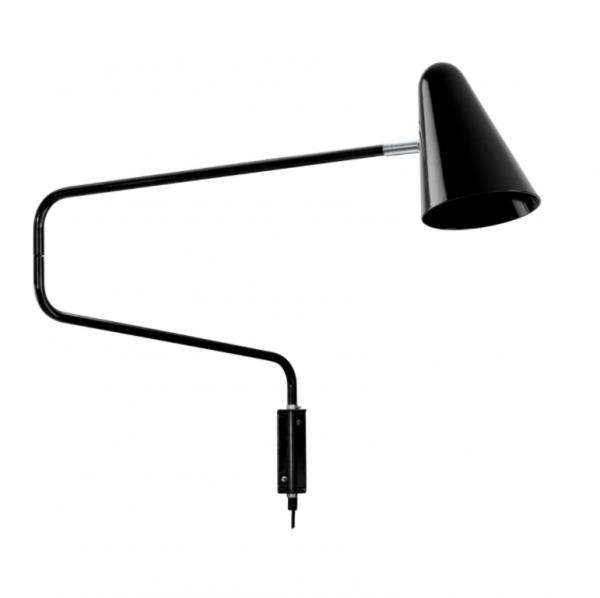 Retro-muurlamp-No.1701-De-cobra-Anvia-BINK-zwart