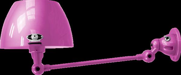 jielde-Aicler-AID301-wandlamp-fuchsia-RAL4008-rond