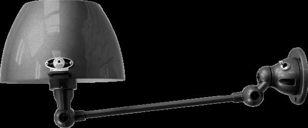 jielde-Aicler-AID301-wandlamp-hamerslag-zwart-NOM-rond