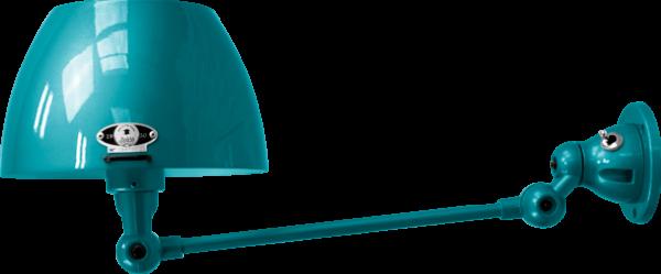 jielde-Aicler-AID301-wandlamp-oceaan-blauw-RAL5020-rond