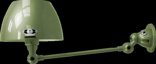 jielde-Aicler-AID301-wandlamp-olijf-groen-RAL6003-rond