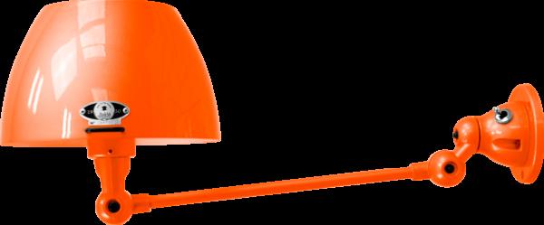 jielde-Aicler-AID301-wandlamp-oranje-RAL2004-rond