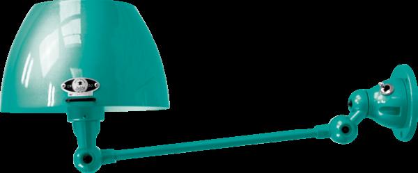 jielde-Aicler-AID301-wandlamp-water-blauw-RAL5021-rond