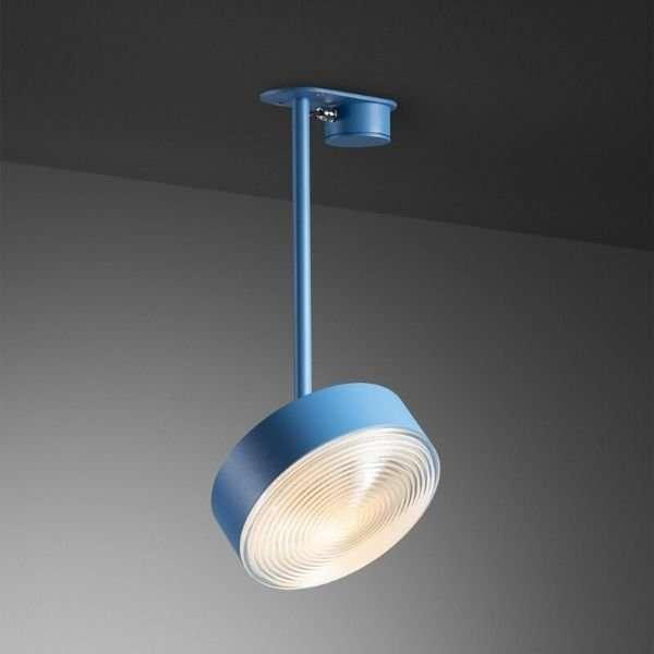 Radieux-plafondlamp-met-Fresnel-lens-BINK-leiden-revolt-blauw