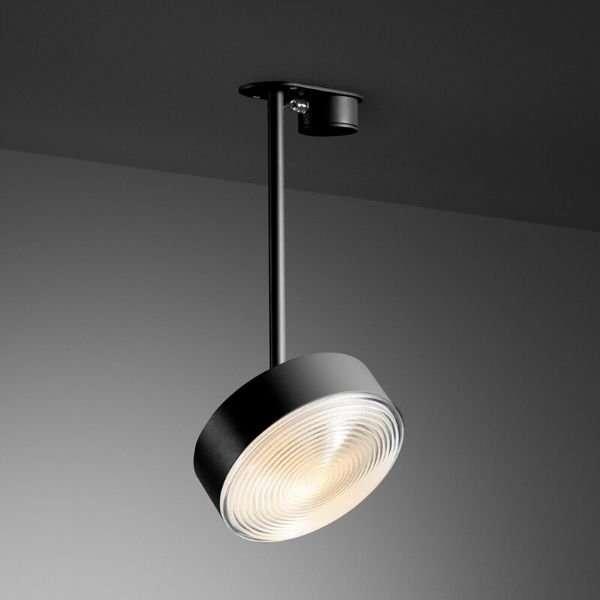 Radieux-plafondlamp-met-Fresnel-lens-BINK-leiden-revolt-zwart