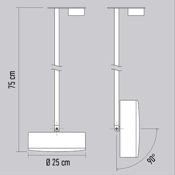 plafondlamp_Revolt_Radieux_75cm-BINK_lampen_leiden-specificatie