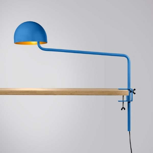 blauw-goud-officer-klemlamp-revolt-BINK-lamp-tafellamp-leiden