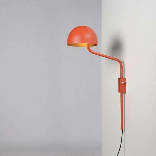 oranje-goud-officer-wandlamp-BINK-lampen-Re-Volt