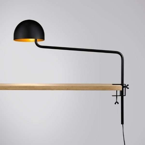 zwart-goud-officer-klemlamp-revolt-BINK-lamp-tafellamp-leiden