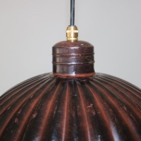 Franse oude hanglamp detail 02