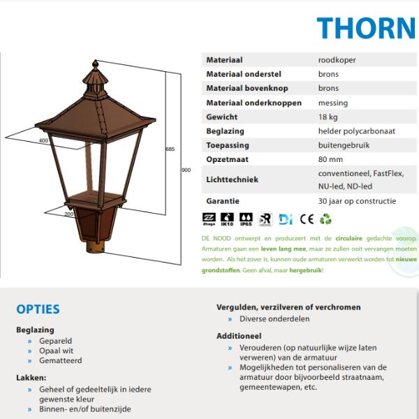Thorn-koper-armatuur-lantaarnpaal-buitenlamp-historisch-gaslantaarn-05